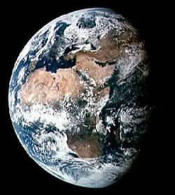 Earth courtesy of NASA - click for more